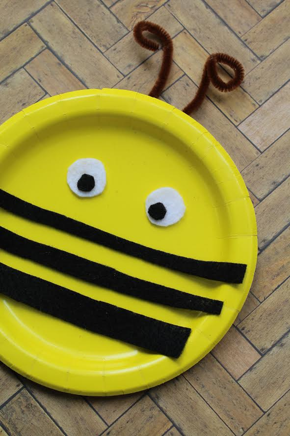 Bumble Bee Paper Plate Craft Two Kids And A Coupon