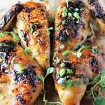 Orange Teriyaki Butterflied Chicken
