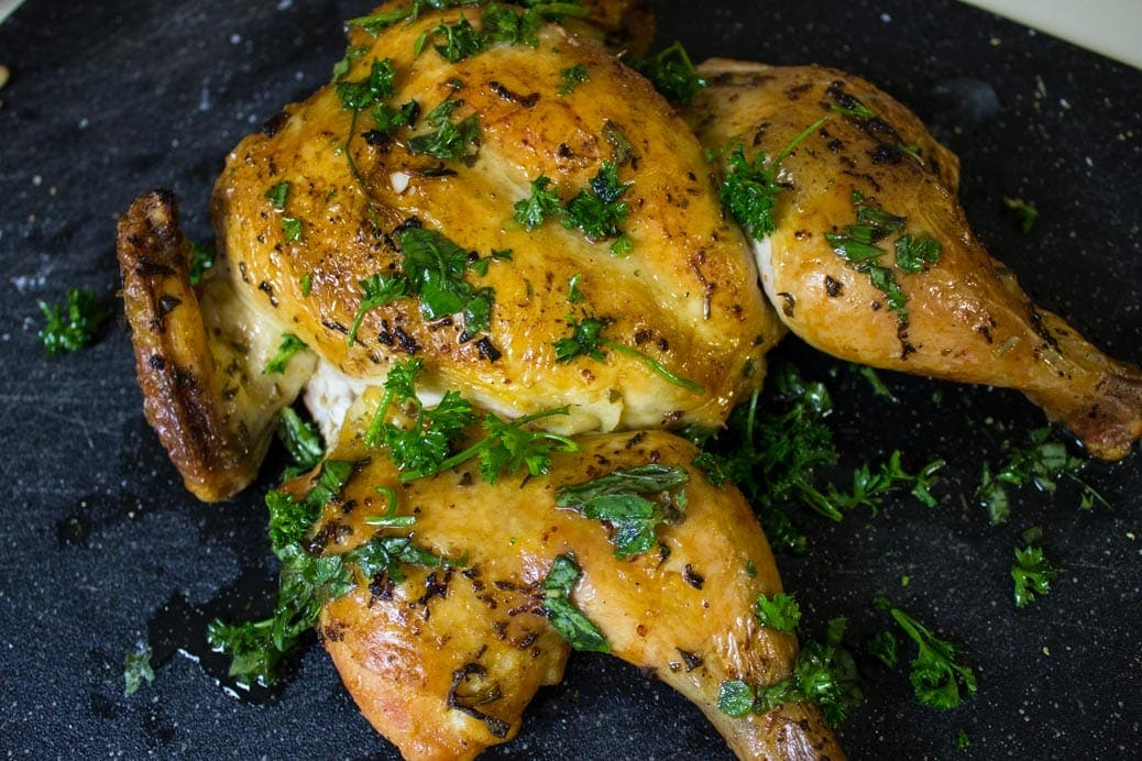 Cedar Planked Chicken
