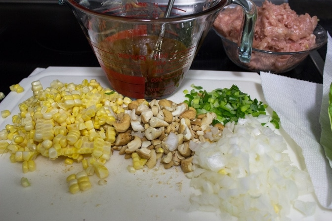 Simplified Chicken Lettuce Wraps (PF Chang-style)