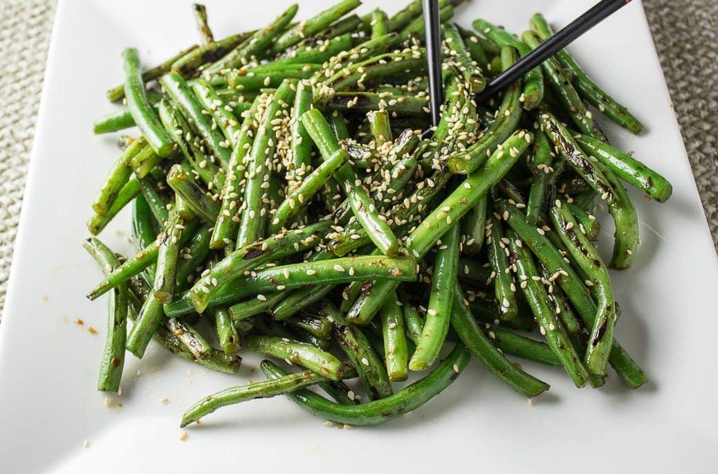 Chinese Stir-Fry Green Beans