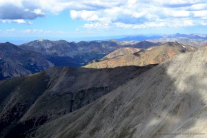 View from Mount Shavano