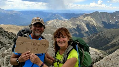 We made it to the top of Mt. Shavano