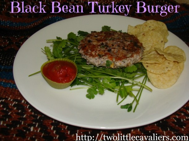 Black Bean Turkey Burger
