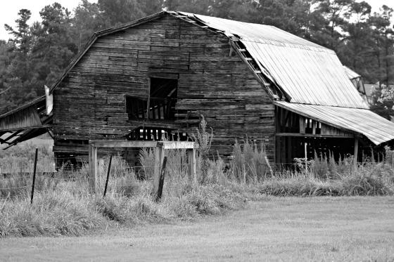 Run down Barn