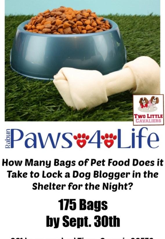 Rabun Paws 4 Life Food Drive