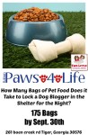 Rabun Paws 4 Life Food Drive - Animal Shelter
