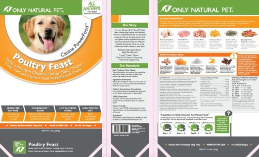 Only Natural Pet Canine Power Food