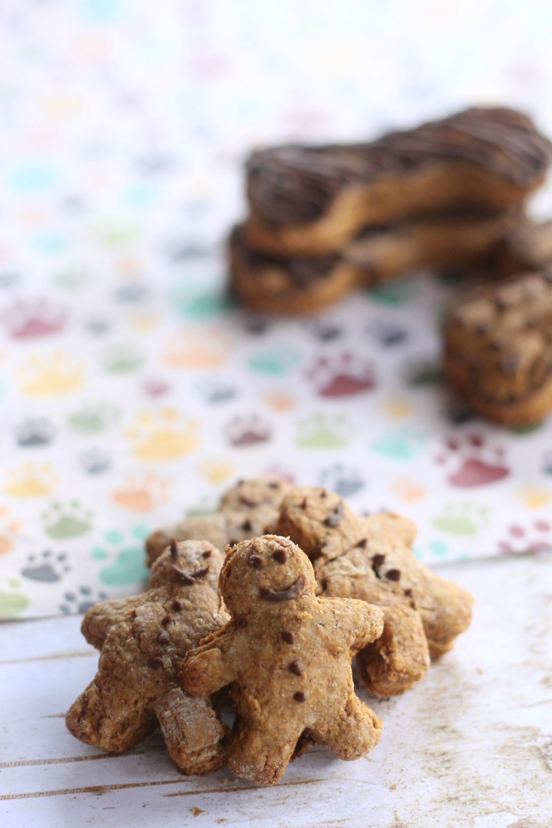 Homemade Gingerbread Dog Treats