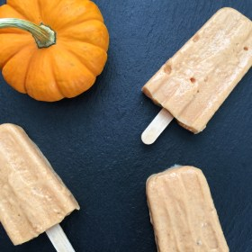 Pumpkin Spice Popscicles