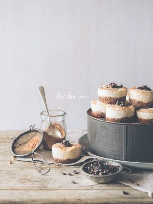 When The Shoot Continues…Raw Peanut Butter Cheesecake Tartlets