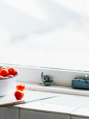 That Window Sill Light – Cherry Tomatoes