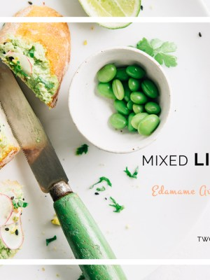 Mixed Lighting: Edamame Avocado Hummus Toast