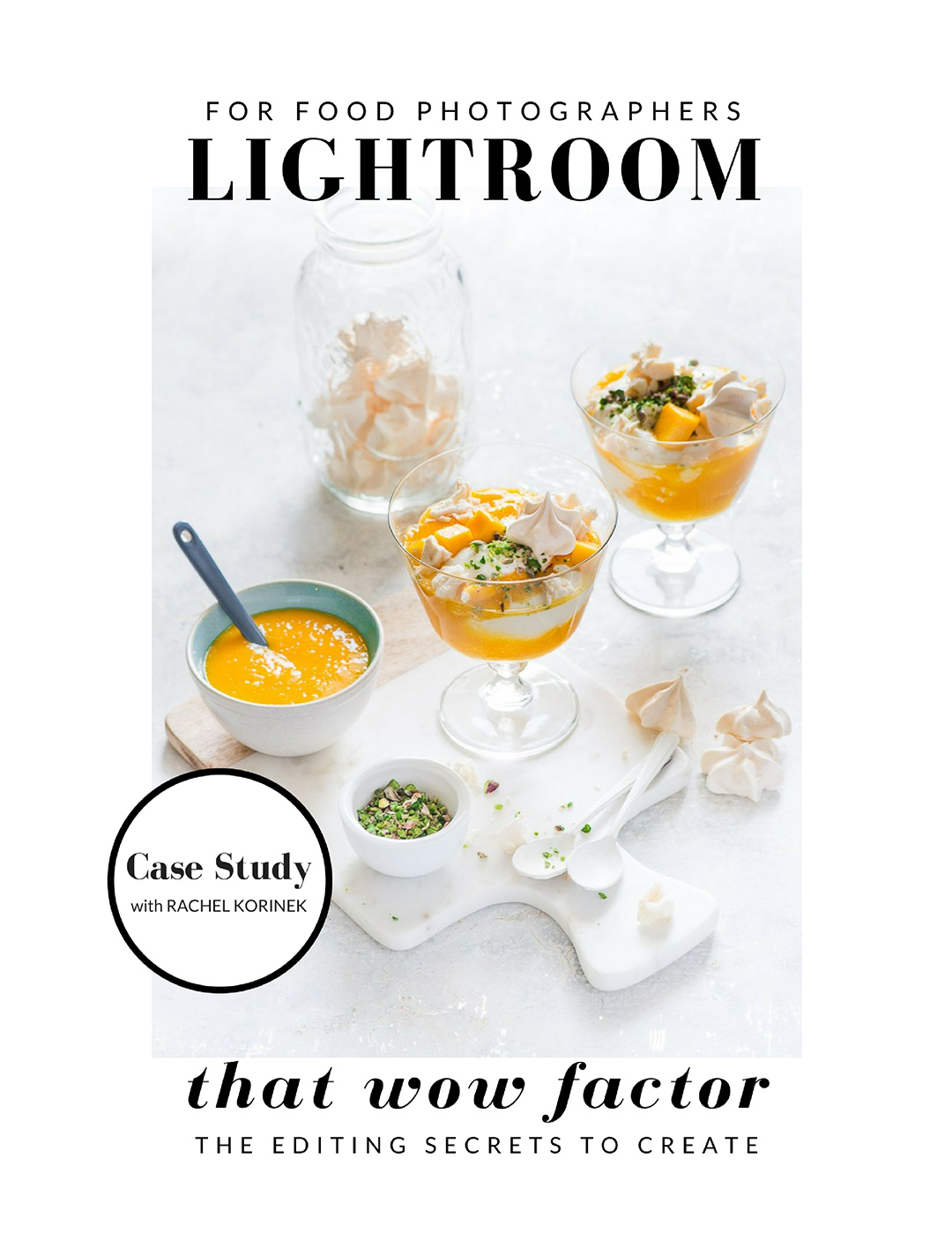 Lightroom for Food Photographers. How it will give you to confidence to edit for that wow factor you want in your photos.