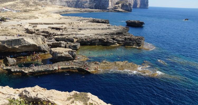 klify na Gozo
