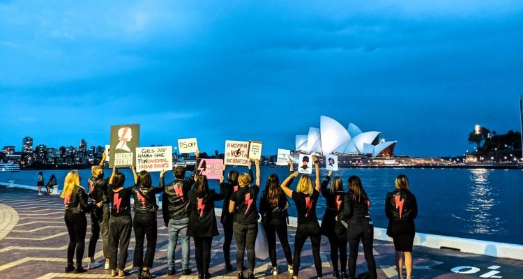 strajk kobiet w Sydney