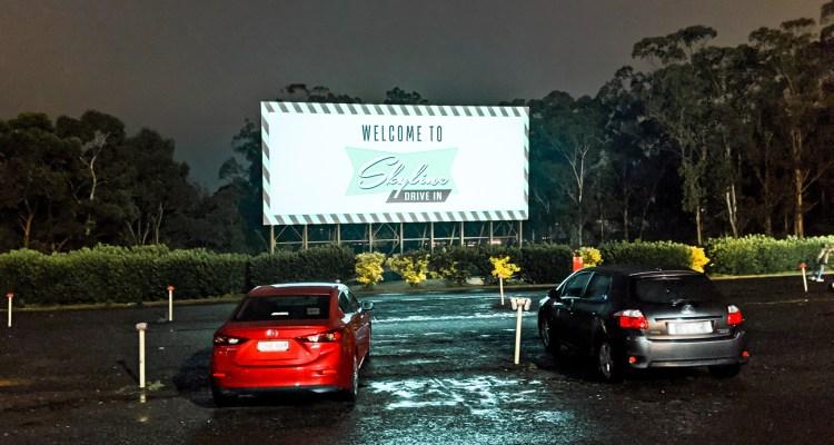 kino samochodowe Drive-In w Blacktown