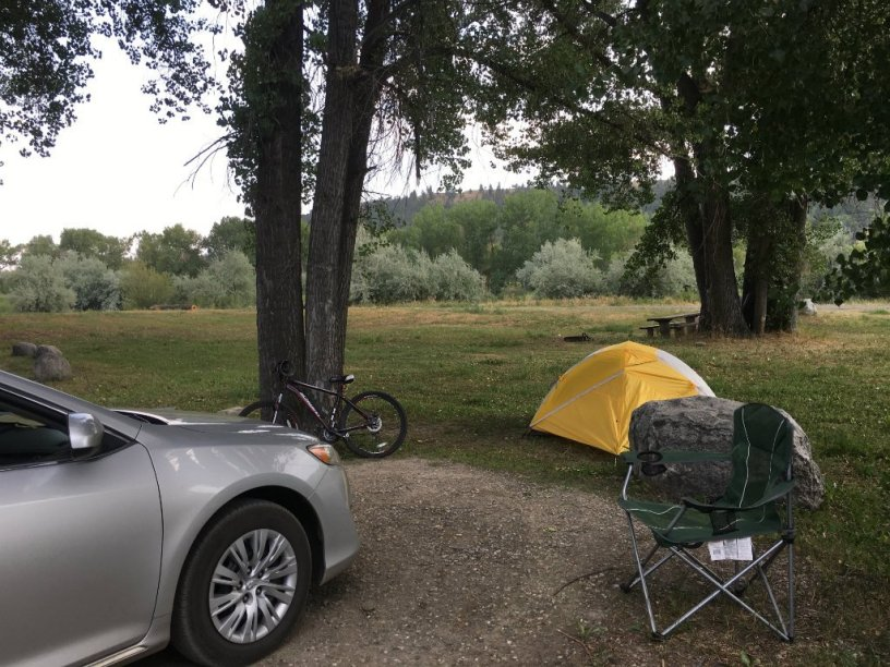 Image: Camping at Itch-Kep-Pe Park