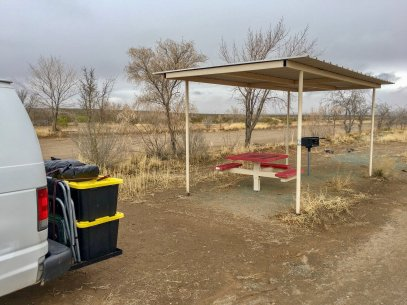 Photo: Camping at Koff Veterans Park in Lordsburg