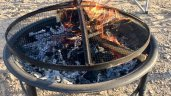 Photo: Fire pit at 2017 gathering