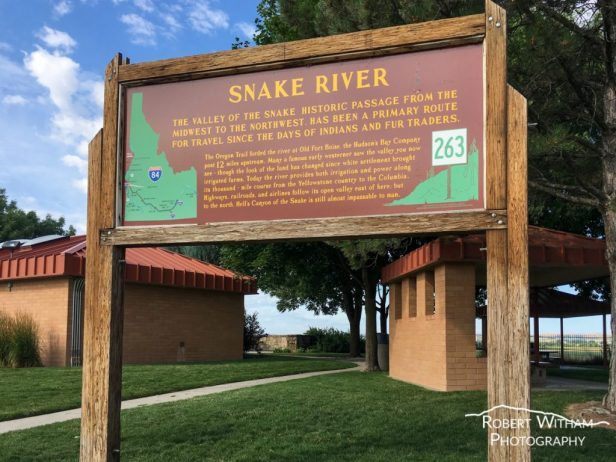 Snake River View Rest Area