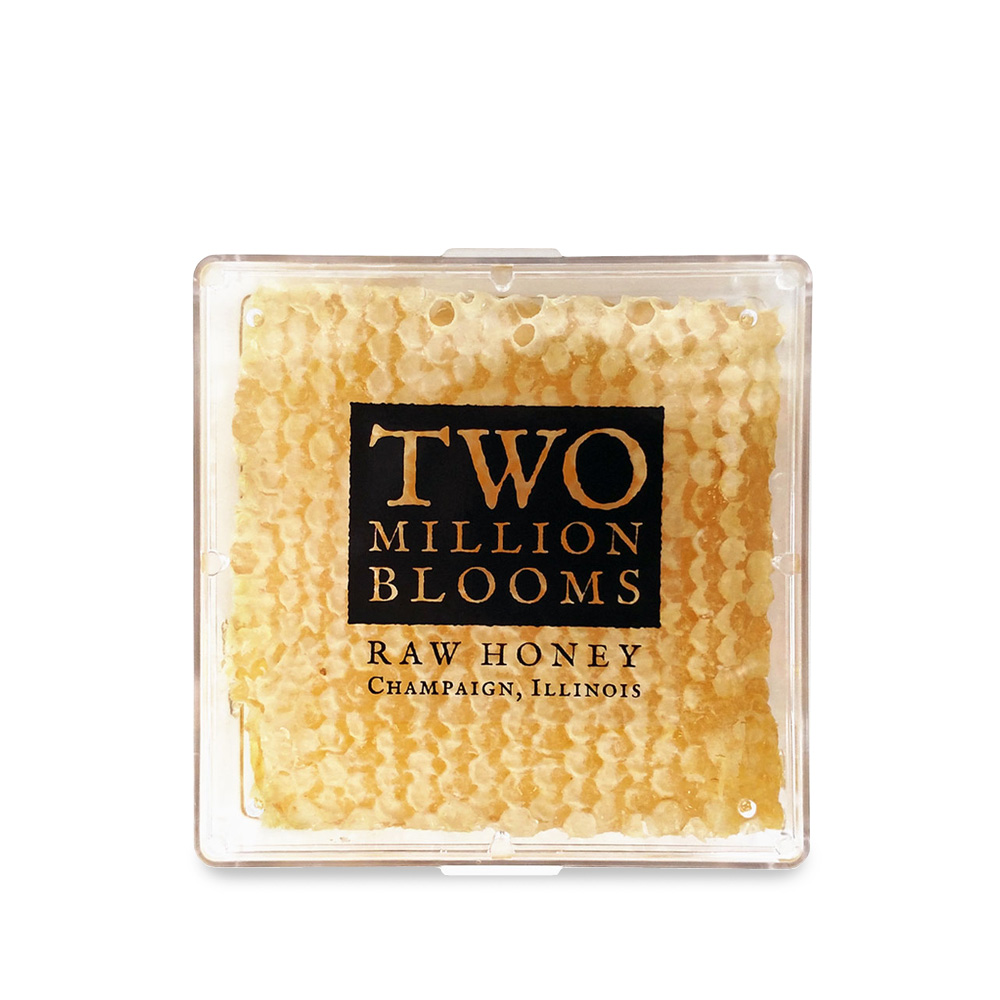 Raw Honeycomb Square – Two Million Blooms