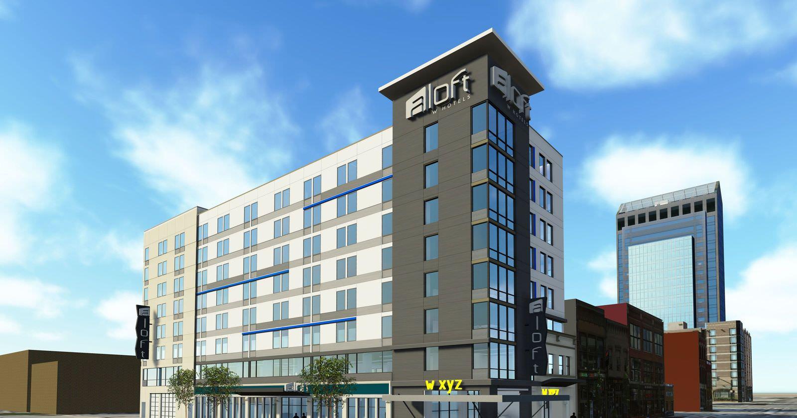 Ultimate List Of Backpacker Hotels Louisville Aloft Downtown