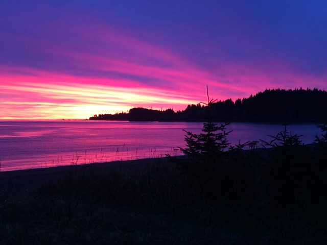kodiak sunrise