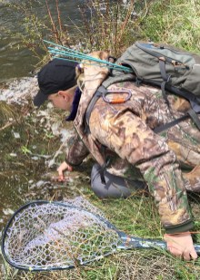 Lisa catch and release fishpond net