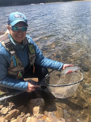 Lisa with Trout 2