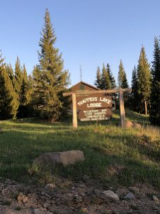 trappers lodge sign