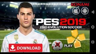 PES 2019 PPSSPP ISO File Download (Pro Evolution Soccer 19 PSP Mod