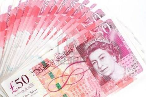 Pounds to naira exchange rate today