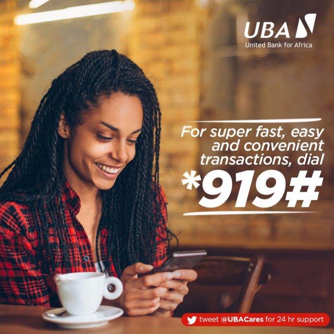 UBA Transfer code *919#