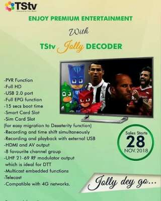 Features of TStv Jolly Decoder