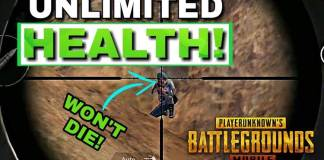 pubg unlimited health