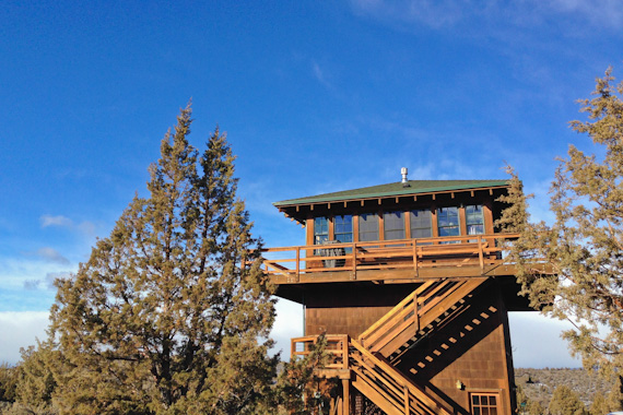 Three Stories Up: A Lookout Tower Weekend in Central Oregon