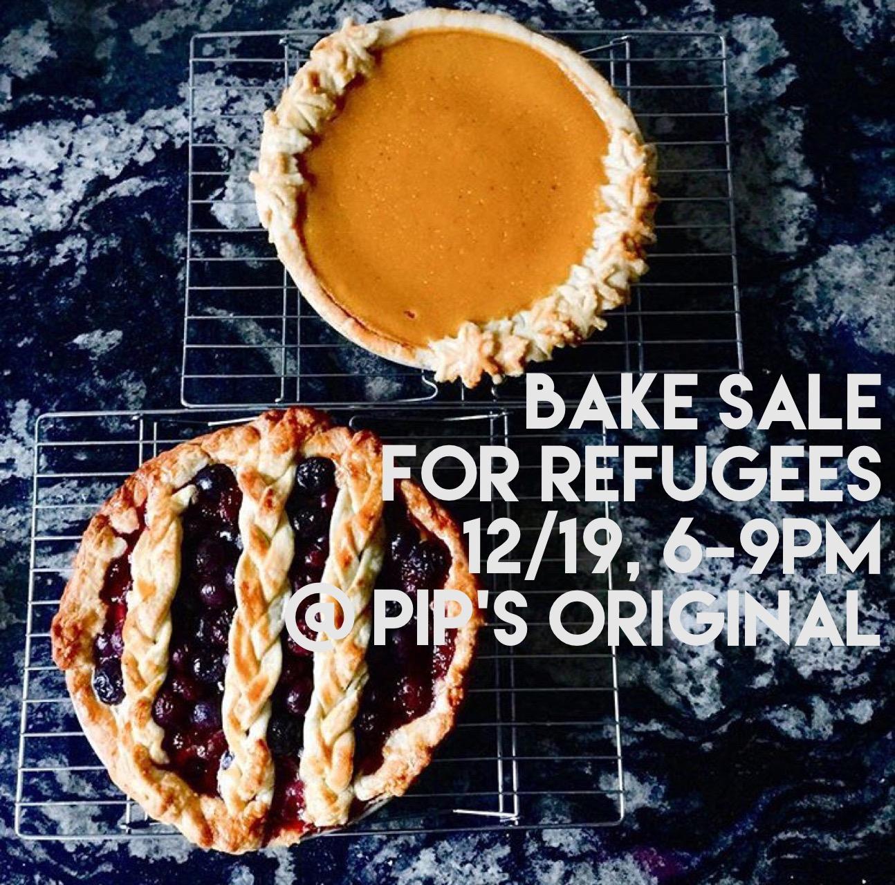Bake Sale For Refugees