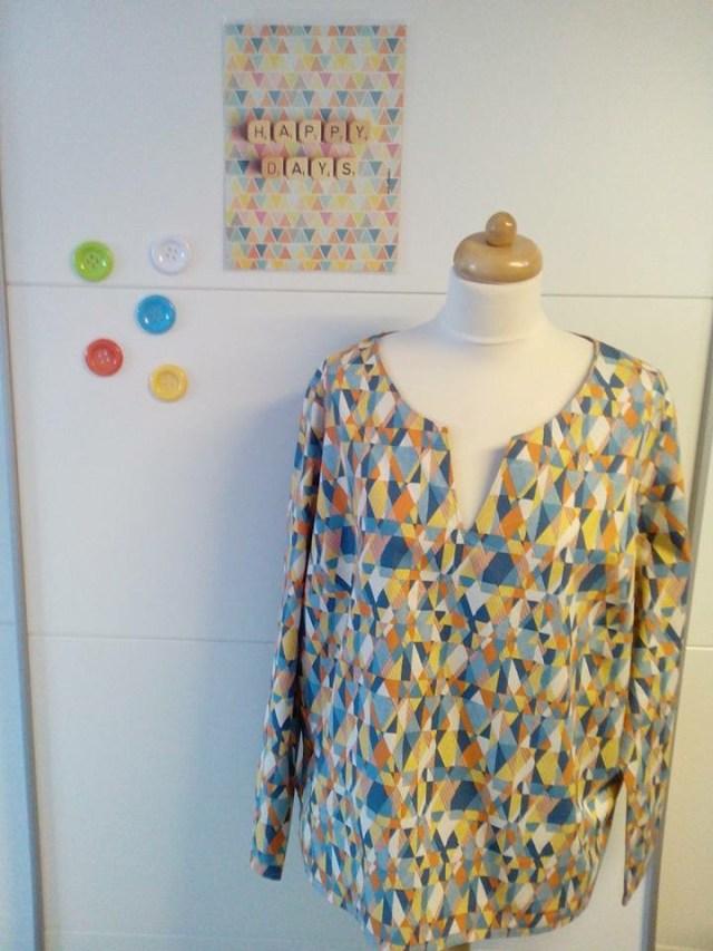 Pam-top-van-Ann Naait Club-weekend - Deel 2: onze naaiprojecten