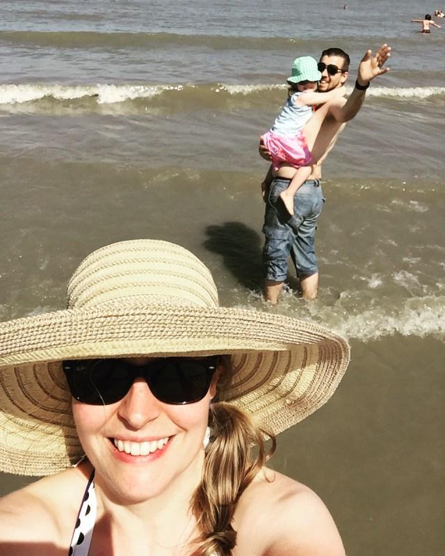 selfie Cadzand