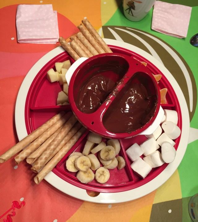 Chocoladefondue Wintering en Lampionaio: een fotoverslag