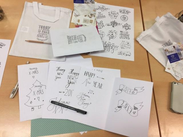FullSizeRender Femma-workshop: Handlettering met Mino Papersweets