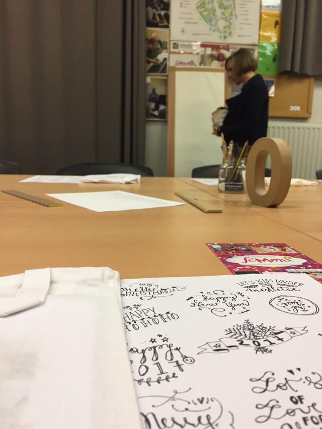 IMG_5053 Femma-workshop: Handlettering met Mino Papersweets
