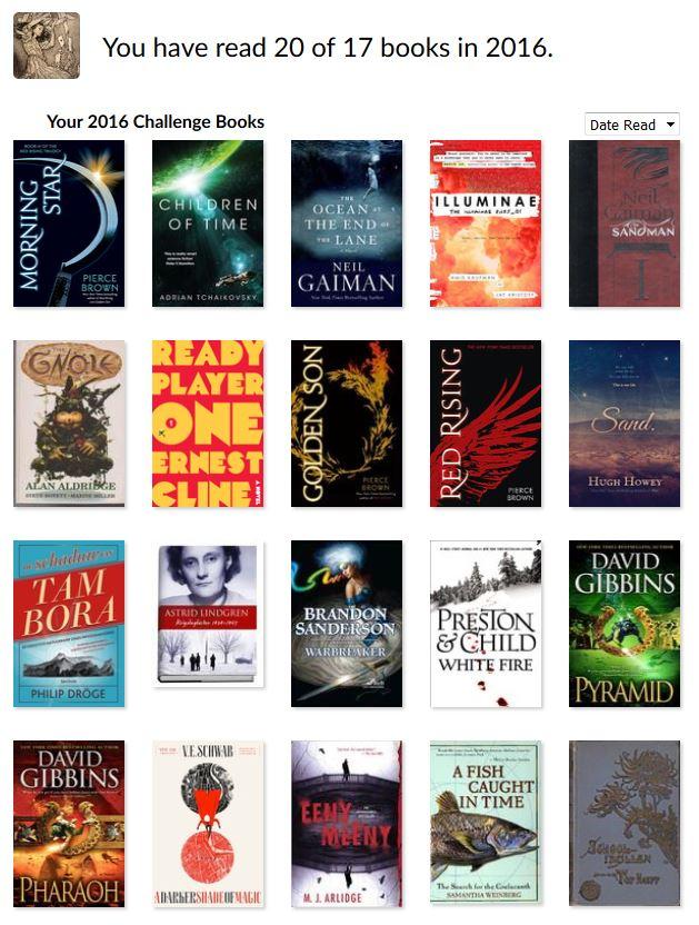 reading-challenge-2016 Mijn Goodreads challenge voor 2016