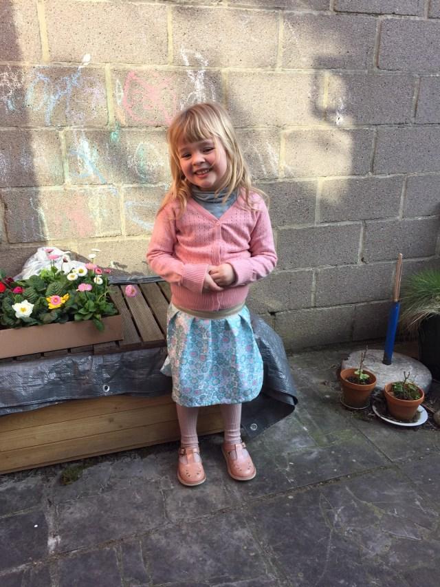 rokje-op-elastiek Twinning met een Rachel rok: een lente-naaiprojectje