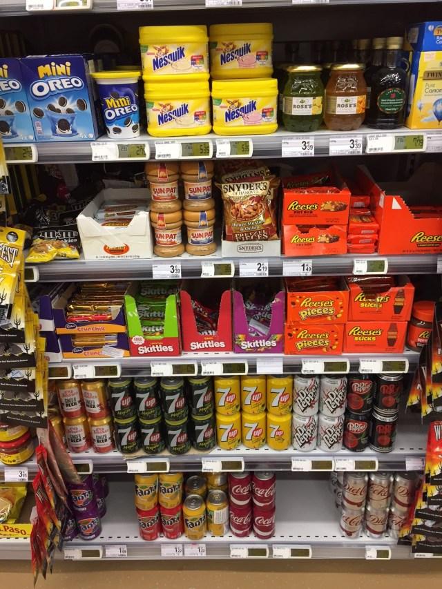 importsnoep Foodshopping en een instant vakantiegevoel (wanneer Reese's dichterbij is dan je denkt)