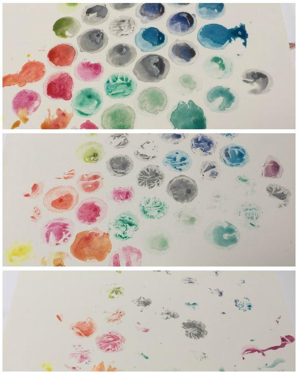 drie-afdrukken Bubble plastic print studio: een bladwijzer voor De Uil