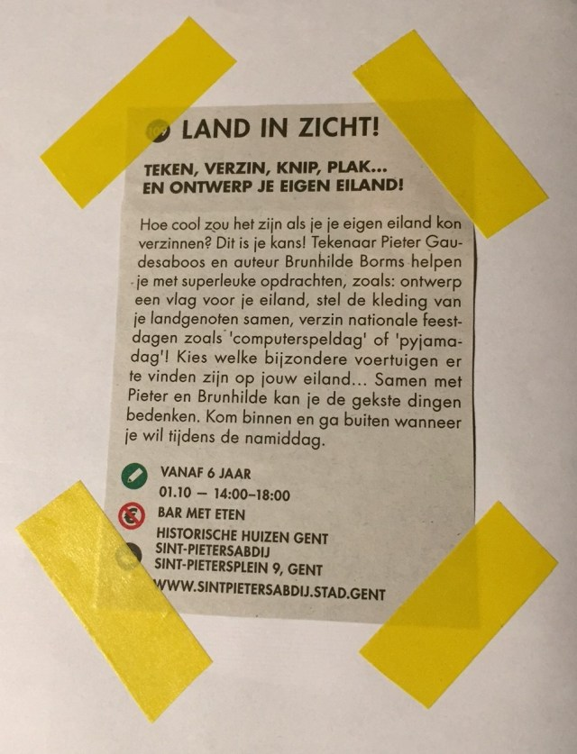 Land-in-zicht-programma Land in zicht op Drawing Days: het tekenfestival in Gent