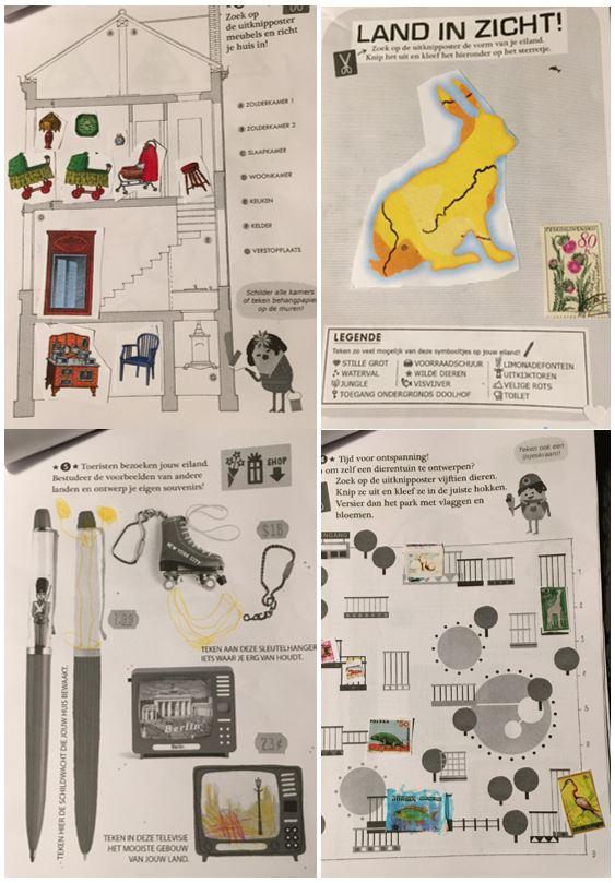collage-boekje Land in zicht op Drawing Days: het tekenfestival in Gent