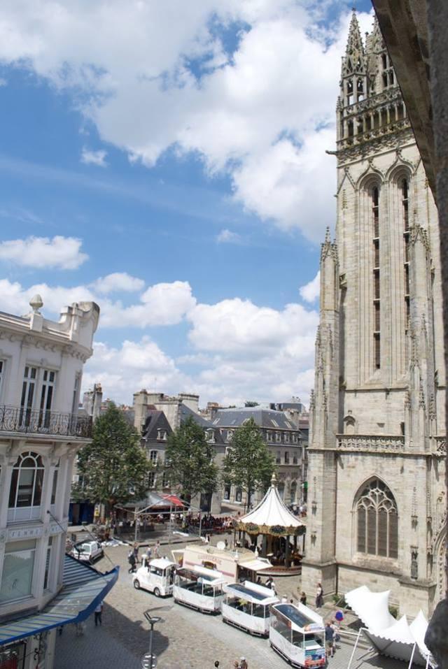 Kathedraal-Quimper La douce France: op reis naar Bretagne met een kind